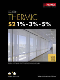 mermet thermic s2 screen térmico galería acristalada