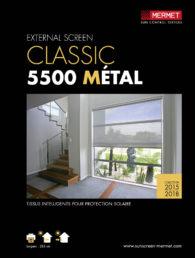 5500 metal screen térmico galería acristalada