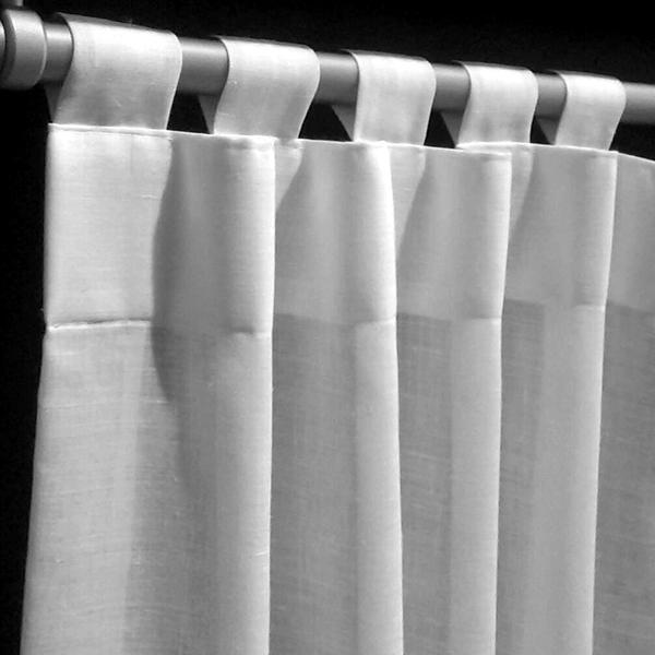 Como hacer cortinas de trabillas idea de la imagen de inicio - Hacer cortinas con trabillas ...