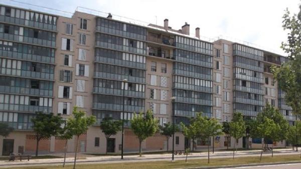 galería acristalada en edificios residenciales
