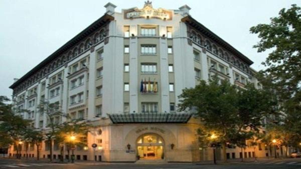 Proyectos de cortinas y estores, salones nh gran hotel zaragoza