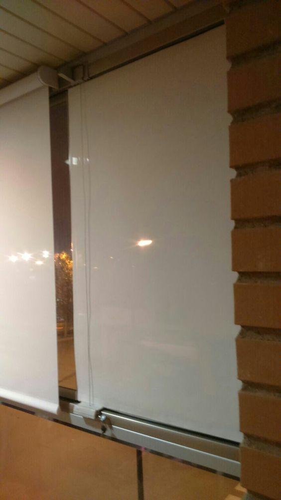 paño para cristal abatible en galería acristalada tipo lumon