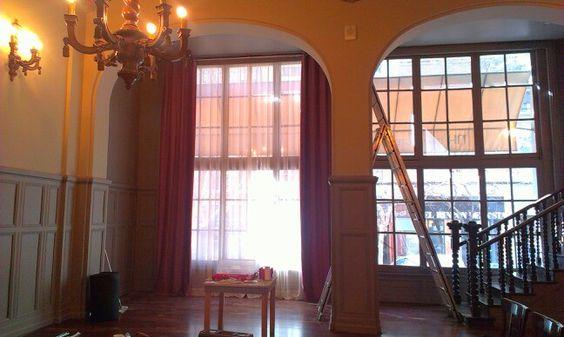 salones de hotel terciopelo de gran altura para cortina