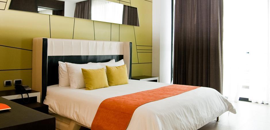 ropa de cama hotelería