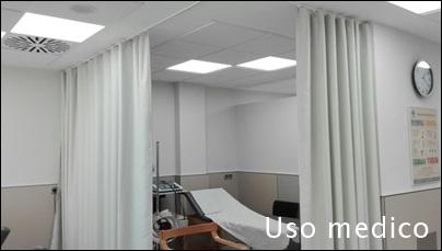 cortinas de uso medico