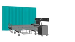 cortina para consulta medica sencilla