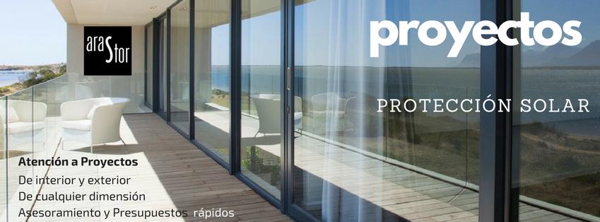 Proyectos de protección solar arastor