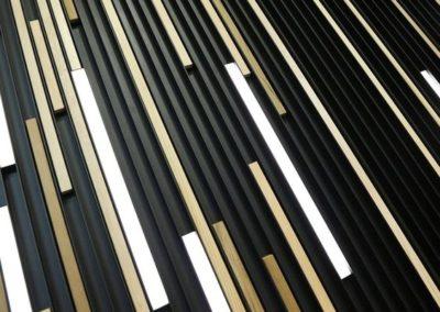 Diferentes listones de madera LINARTE